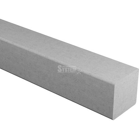 Betónová štvorcová lišta BV 100/50x50