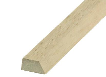 Trapezová lišta drevená 40/30/20 mm