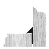 Trojhranná lišta s limcom plná 15/21/30 mm