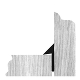 Trojhranná lišta s limcom plná 07/10/15 mm