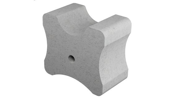 Betónová podložka bez drôtu 45-55-60 mm
