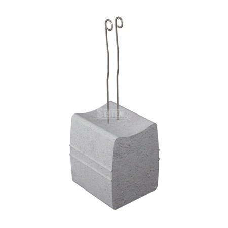 Betónová podložka s drôtom BAOD 40 mm