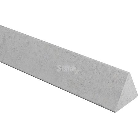 Betónová trojhranná lišta 40 mm