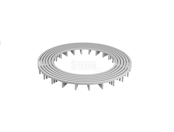 Dištančný kruh 15 mm