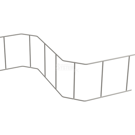 Kovový had DBV 340 mm