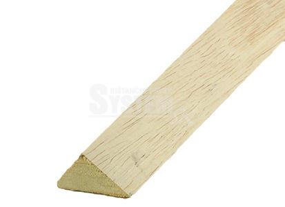 Trojhranná lišta drevená 40/56 mm